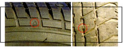 Tyre Tread Depths Image